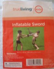 "New Inflatable Sword Summer Water Fun 26"" X 10"" Age 3+"