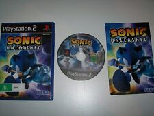 Sonic Unleashed  PS2 Game
