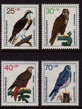 W Germany 1973 Youth Welfare. Birds of Prey SG 1648-1651 MNH
