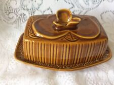 Vintage Royal Winton Majolica Butter Dish