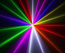650 mV luz láser RGB de 7 Colores ** Willi pro Reino Unido ** para Discoteca DJ Lazor