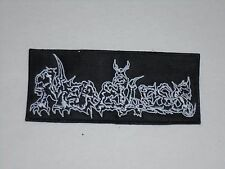 MERCILESS, DEATH/THRASH METAL EMBROIDERED PATCH