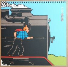 HERGE Calendrier Tintin 2012 30x30 cm