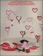 Valetines Day Tree of Hearts Pattern #1072 Macrame Merry Makers Holidays