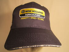 *NEW* Men's Cap NEW HOLLAND AGRICULTURE Arnett Enid OK Size: Adjustable [Z164e]