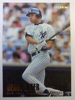 1996 96 Fleer Derek Jeter Rookie RC #184, New York Yankees