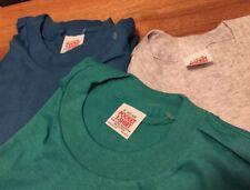 Lot 3 Vintage Pocket T-shirt 50/50% Cotton/ Poly One Pocket T Shirt. Size L