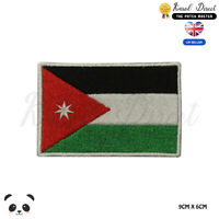 JORDAN National Flag Embroidered Iron On Sew On Patch Badge For Clothes etc
