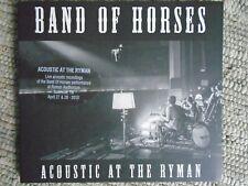 Band Of Horses- Acoustic At The Ryman ,Digipak CD