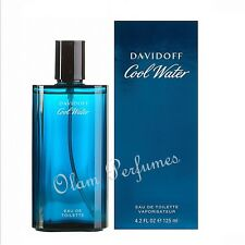 Davidoff Cool Water For Men Eau De Toilette Spray 4.2oz 125ml * New In Box Seale