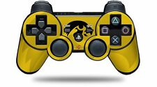 Skin for PS3 Controller Iowa Hawkeyes Herky Black on Gold CONTROLLER NOT INC