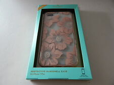 """Kate Spade Protective Hardshell Case for iPhone 8/7 Plus 5.5"""" Pink/Bling/Flower"""