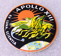 Vintage Sticker Decal ✱ NASA ~ APOLLO XIII ✱ Rocket Moon Mission Insignia Logo