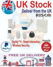 Agility 4 RISCO Intruder Alarm wireless multi layered smart security system