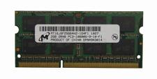 Micron 2GB Memory Ram 2RX8 PC3 10600S-9-10-F1 MT16JSF2566HZ-1G4F1 Used DDR2