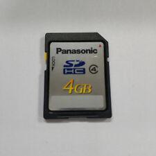 Original Panasonic SD Digital Card Flash Card Memory Card 4GB SD Card For Camera