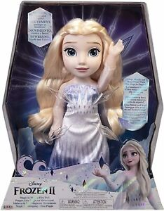 Disney Frozen 2 Magic in Motion Singing Elsa Doll - Motion Music and Lights