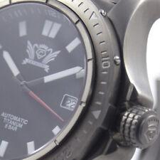 Cavadini Men's Watch Automatic Aviator Solid Titan SELITA-SW-200 Index CV-1608