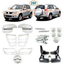 Accessories Chrome Smart Molding Covers Trims For 2009-2013 Suzuki Grand Vitara