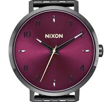 PRE-OWNED $200 Nixon Womens 'Arrow' Quartz Stainless Steel Casual Watch A1090192