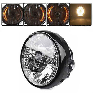 Universal 7Inch Motorcycle Headlight LED Turn Signal Light For Motorcyclo