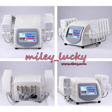 14 Laser Pads Lipo Body Slimming Fat Removal massage beauty Machine CE Approved