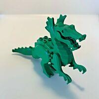 Lego Classic Vintage Castle Dragon figure Set Green 6076 6056 6082 6087