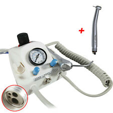4H Portable Dental Lab Turbine Unit  & High Speed Clean Head Handpiece fit NSK