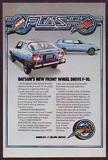 1976 Original Vintage Datsun F-10 Hatchback & Sportwagon Car Photo Print Ad