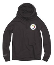Pittsburgh Steelers Women's Mitchell & Ness NFL Offsides Funnel Neck Sweatshirt