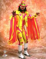 MACHO MAN RANDY SAVAGE WWE PHOTO WRESTLING OFFICIAL STUDIO 8x10 PROMO WWF WCW