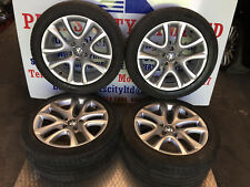 """VW SCIROCCO T 2011 4X 17"""" DONNIGTON ALLOY WHEELS WITH TYRES 1K8601025B"""