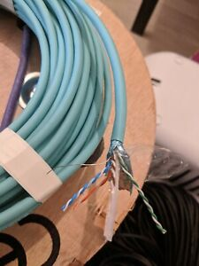 Various lengths - Excel Cat6 Cable F/UTP Dca LS0H - Ice Blue Over 50% off RRP