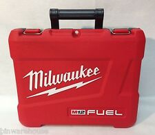 Milwaukee m12 Fuel Case for 2453-20 or 2454-20 Impact Wrench or Driver Case New