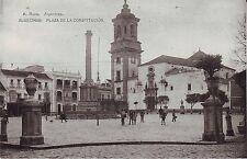 Spain Algeciras - Plaza de la Constitucion 1927 used postcard