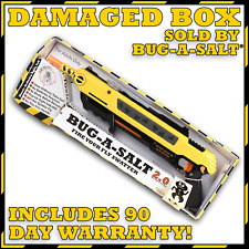 DAMAGED BOX, Authentic BUG-A-SALT 2.0, Never used, Full Manufacturer Warranty