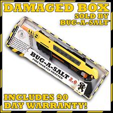 DAMAGED BOX, Authentic BUG-A-SALT 2.0, Never used, Full Manufacturer Warranty