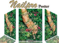 Poster Hochglanz Werbeplakat Nagelstudio Naildeko Nailpro Nr. 109