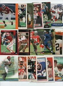 ALABAMA CRIMSON TIDE 50 CARD FOOTBALL LOT HAND, JONES, MOHR RICHARDSON DIXON...