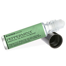 Peppermint Essential Oil Roll On, Pre-Diluted 10ml Sold by Aromine Essentials