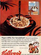 1959 Kellogg's PRINT AD Sugar Frosted Flakes Theme Tony the Tiger Cute! Frame it