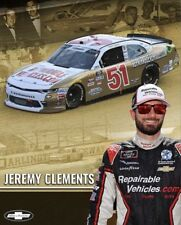"2018 JEREMY CLEMENTS ""REX WHITE DARLINGTON THROWBACK #51 NASCAR XFINITY POSTCARD"