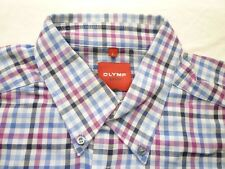 E8024 Olymp Novum Businesshemd Kombimanschette L blau, weiß, schwarz, rosa