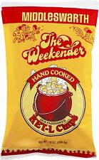 3 BAGS! Middleswarth Hand Cooked Old-Fashioned KET-L Potato Chips Weekender