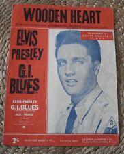 ELVIS PRESLEY - WOODEN HEART - VERY RARE