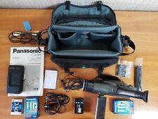 Panasonic NV-VX10 x17 zoom Video Camera Carrybag - Made Japan - Rare - Vintage