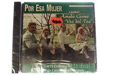 Por Esa Mujer Canta Amado Cosme La Voz Del Toa Con el Conjunto de Quique CD