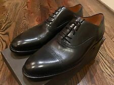 1,000$ Bally Black Scribe Goodyear Welted Size US 12.5 EEE Made in Switzerland
