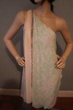 """NWT Diane Von Furstenberg one shoulder silk """"Liluye Short"""" dress size 6 $445"""