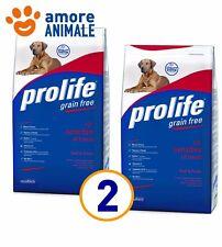 2 SACCHI Prolife Adult Sensitive Manzo e Patate 12 kg - Crocchette per cane cani